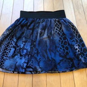 Maurices animal print skirt size M